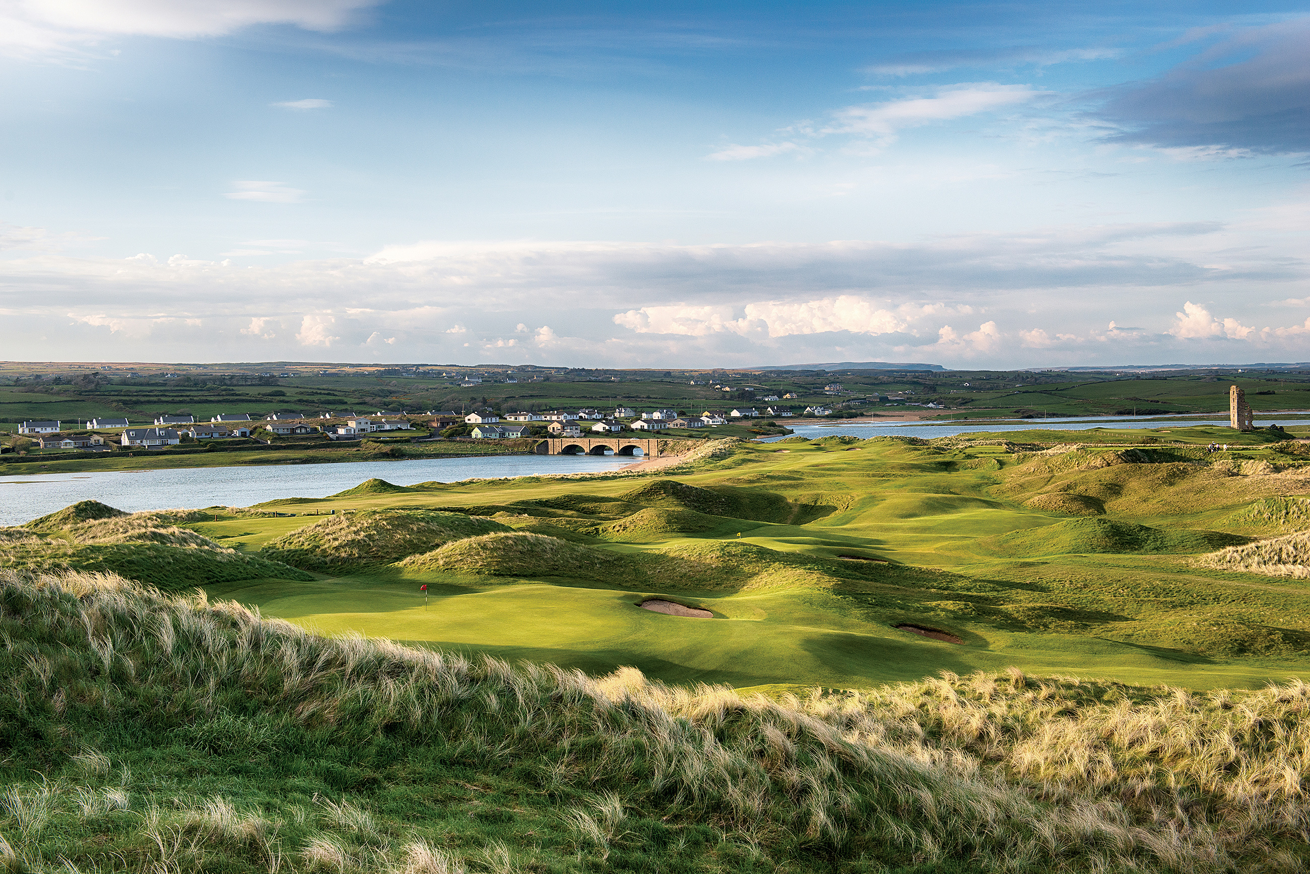 A view across to the 10th at Lahinch